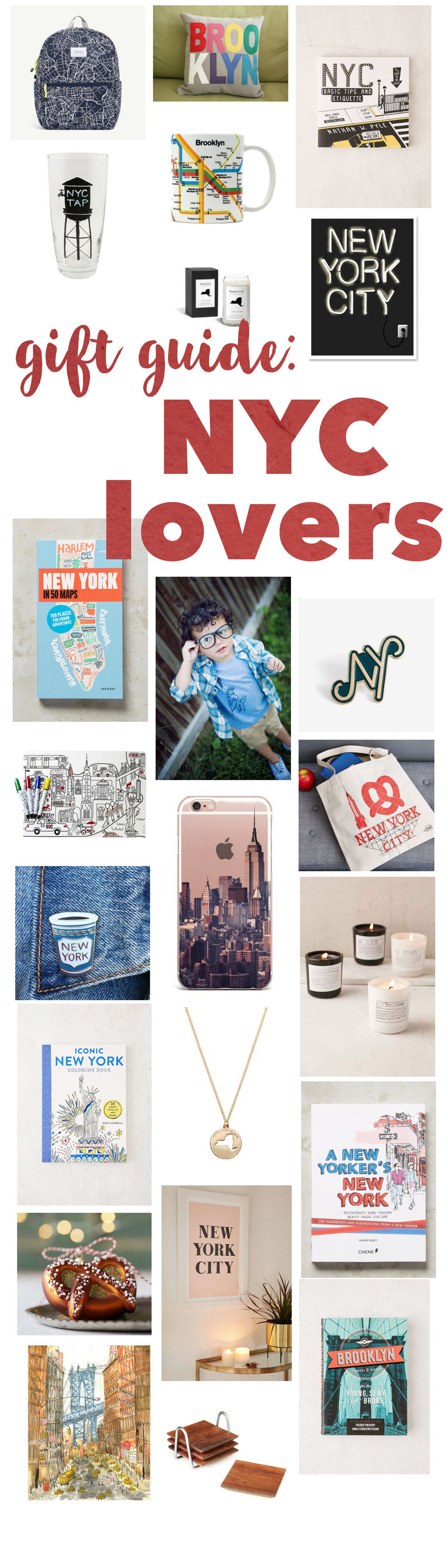 gift ideas for people who love NYC