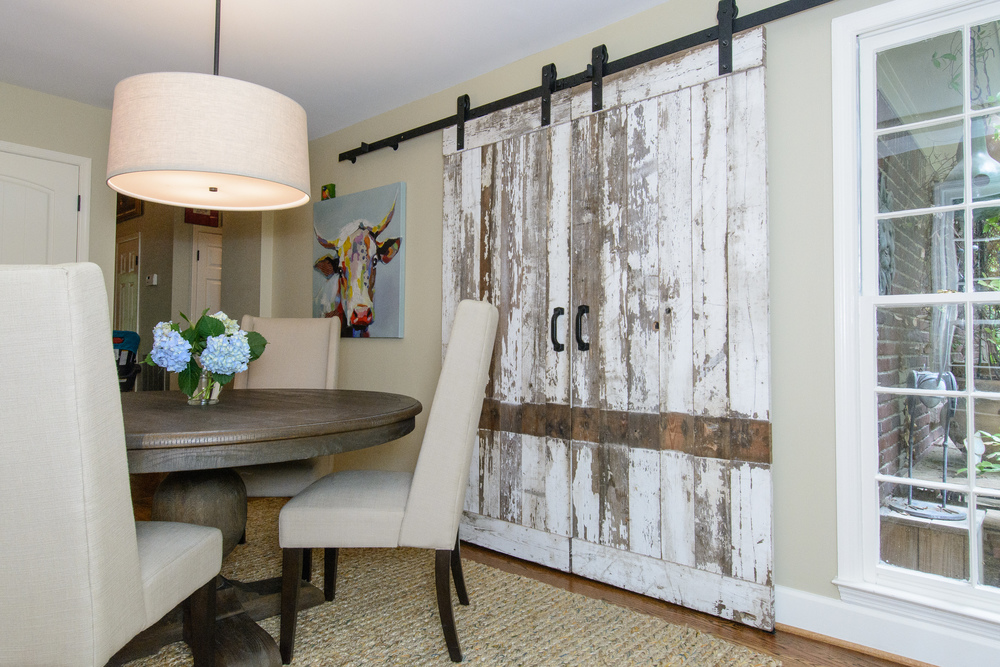 Meadow Brook Kitchen and Barn Doors