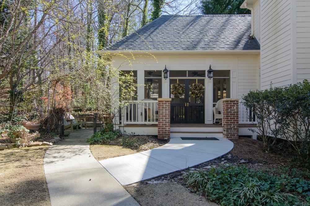 Greystone Porch