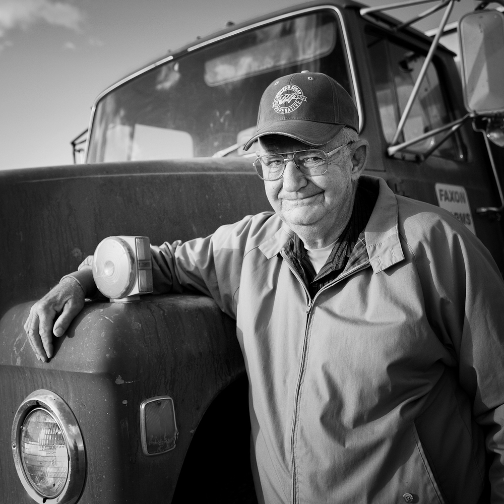 Don Faxon, 3rd generation farmer.