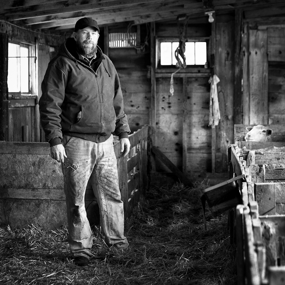 Regan Smith; fourth generation farmer and rancher on his great-grandparent's homestead.