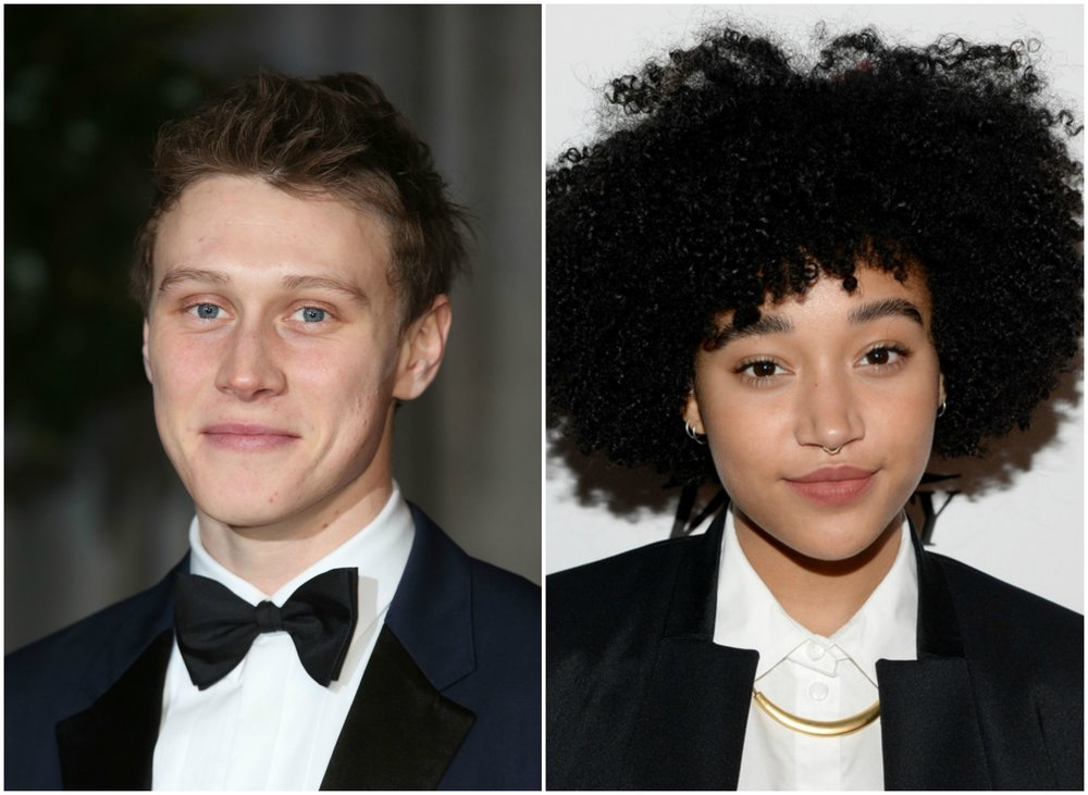 George MacKay and Amandla Stenberg