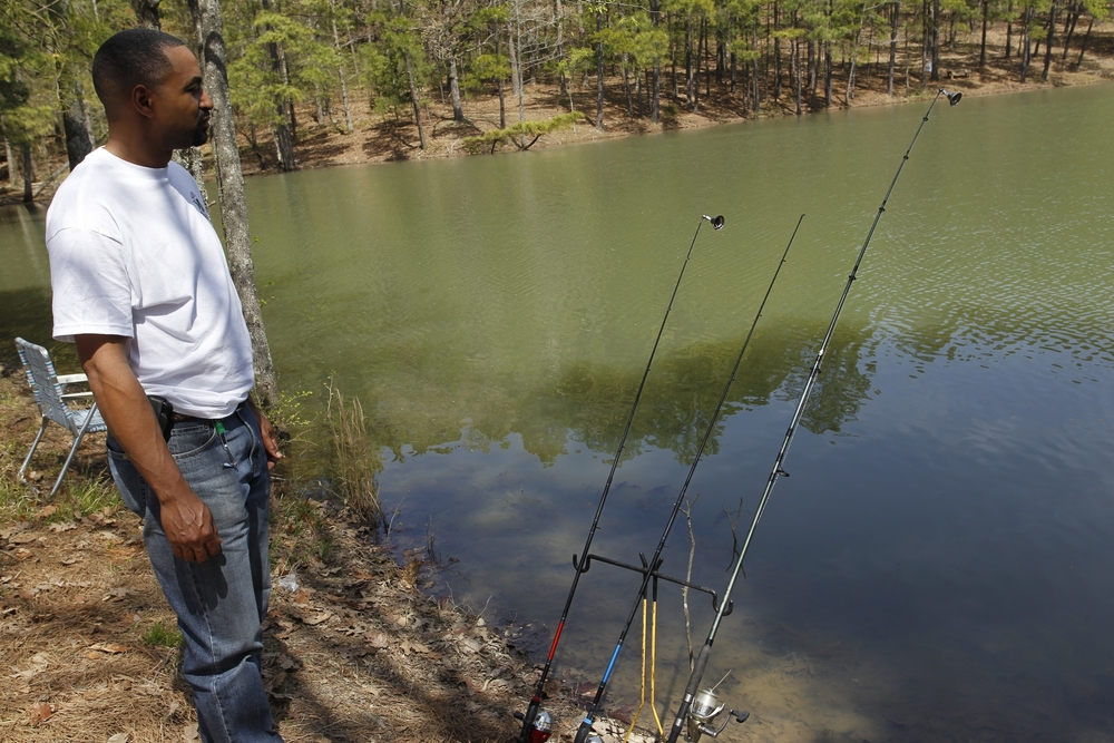 Conner Park in west Little Rock is another popular fishing pond in the city.