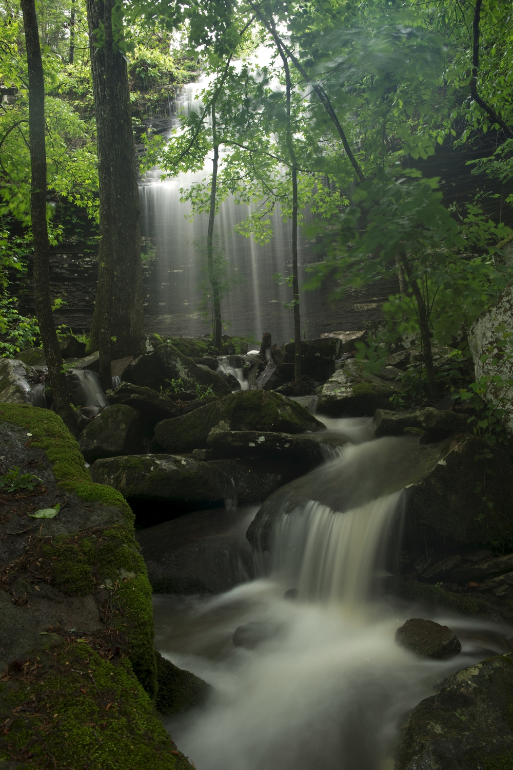 There are few spots in the state as lovely as Bridal Veil Falls in Heber Springs.
