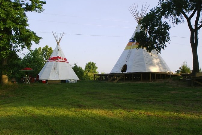 For a unique retreat, Diamond John's in Murfreesboro's teepees are unbeatable.