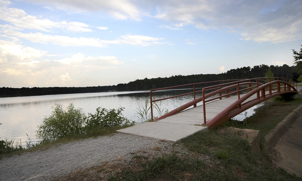 Craighead Forest Park in Jonesboro has an abundance of multi-use trails that connect hikers and bikers to Crowley's Ridge.