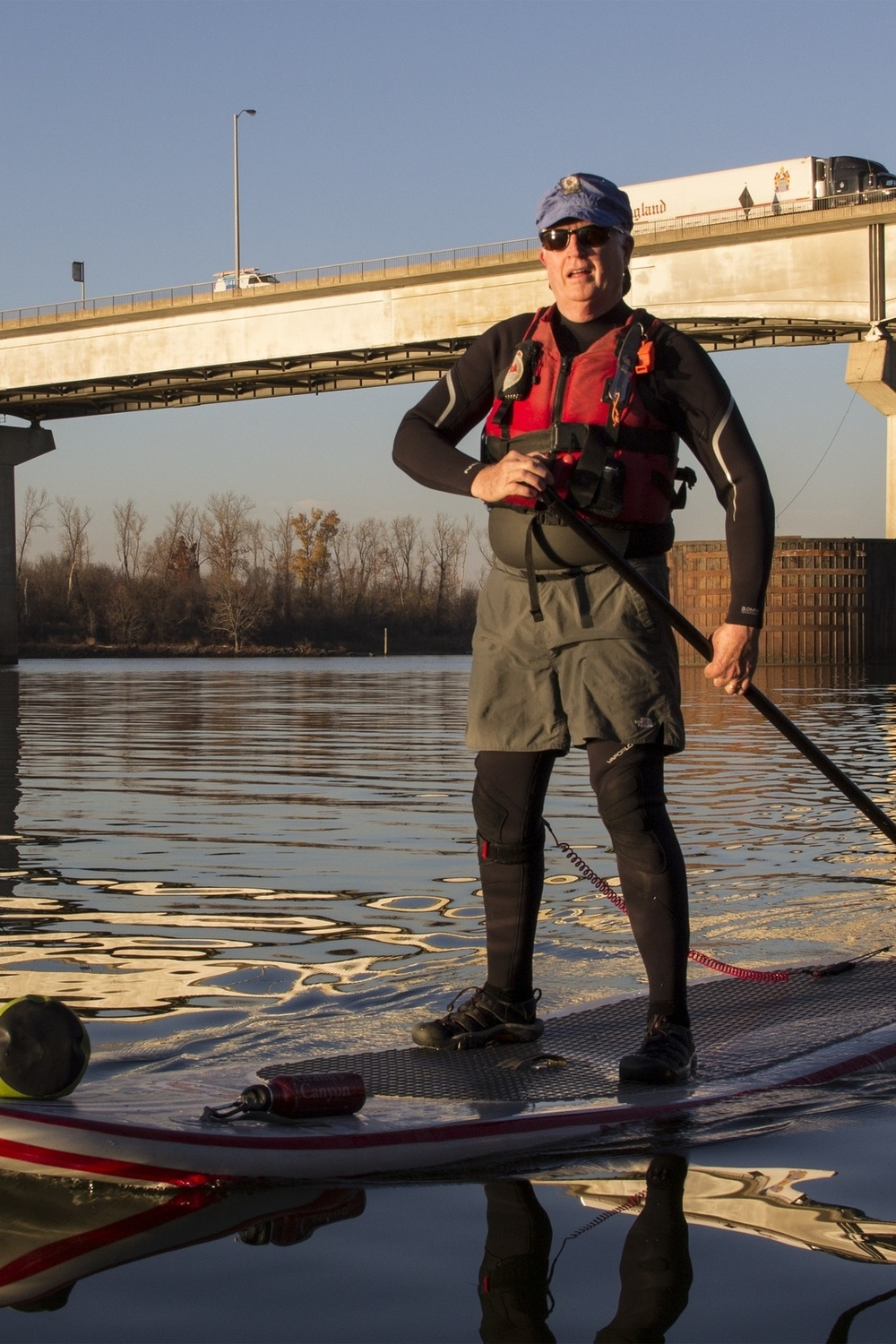 SUP riders take on rivers of all sizes—including the Arkansas.