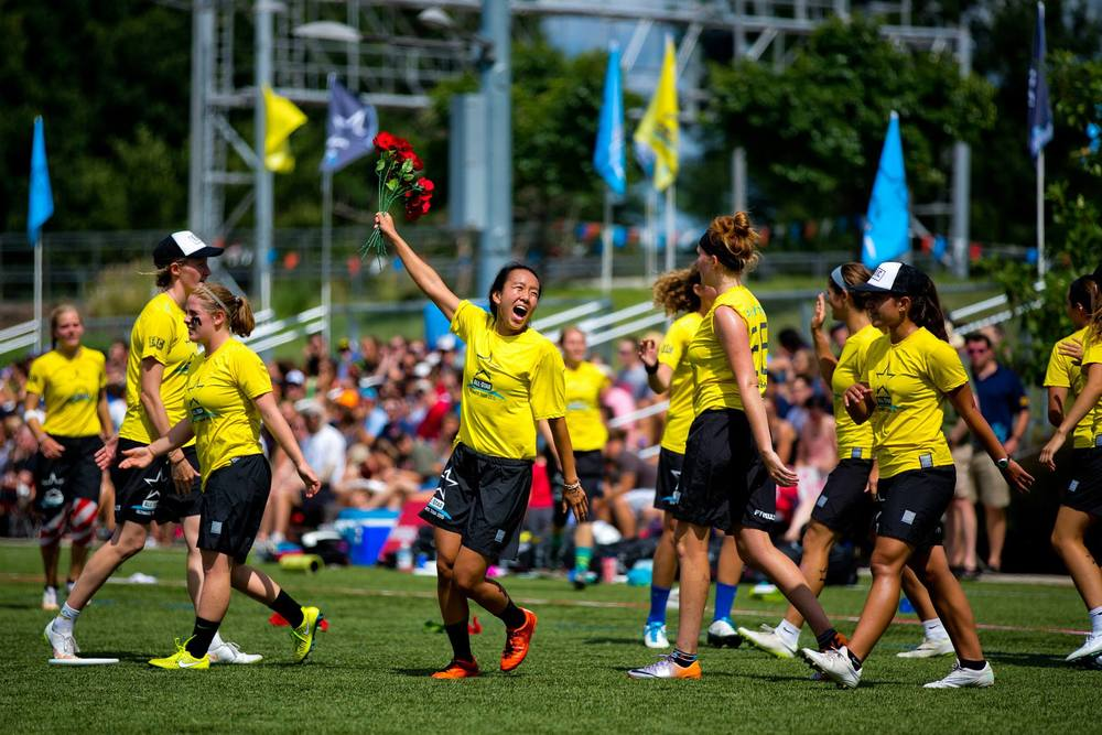 All-Star games provided awesome opportunities for media coverage of female athletes. Photo credit: Steve Helvin