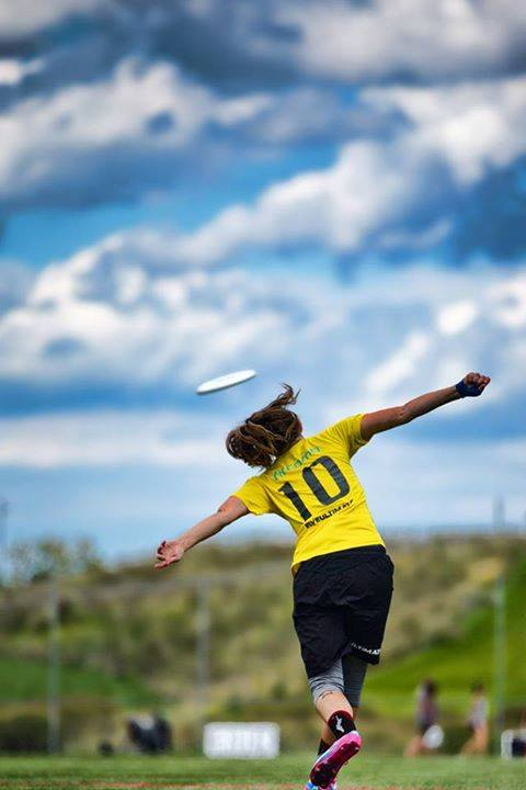 Qxhna Titcomb organized, fundraised and played in the  All-Star Ultimate Tour  last summer. Photo: Steve Helvin