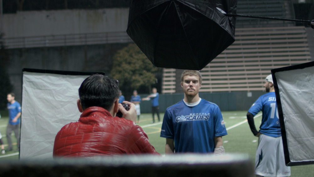 A recent promotional video produced by the Seattle Cascade's highlighted Sam Harkness' thoughts on privilege, equity and access in professional ultimate. Photo still: Alex Axworthy