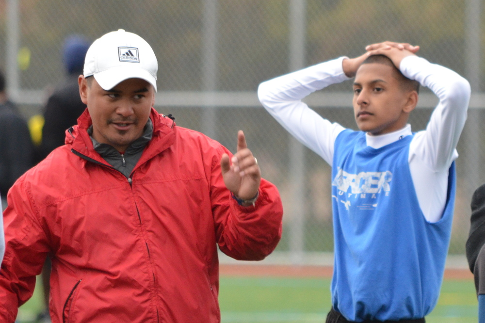 Southend ultimate was started by coaches Sam Terry and Rex Gaoaen at Mercer Middle School. Photo: Edgar Masmela