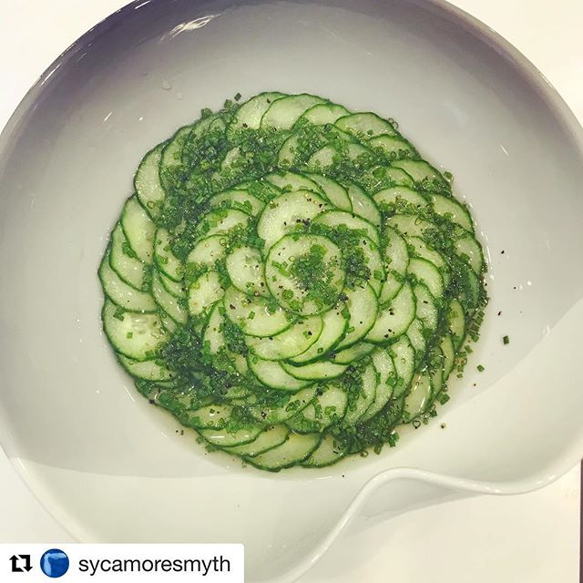 #Repost @sycamoresmyth with @get_repost ・・・ Currently private cheffing for a family in Maida Vale a couple of days a week. They requested this refreshing cucumber salad. Sometimes the simple things are the best. #cucumbersalad #summerfood #sycamoresmyth