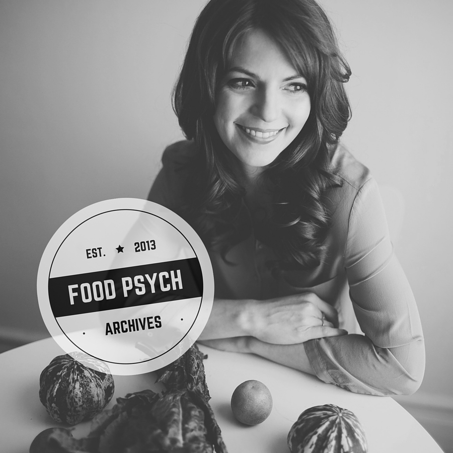 You can check out our early episodes in the Food Psych archives, available for download here.