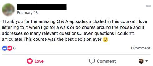 """This course was the best decision ever :)"""