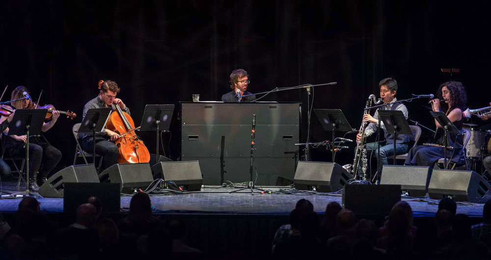 Ben Folds with yMusic at Louisville Palace 2015-6.jpg