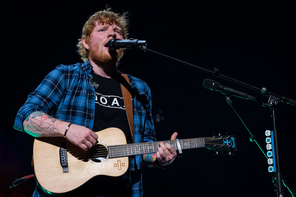 Ed Sheeran James Blunt KFC Yum! Center Sept 7 2017-14.jpg