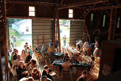 Our friends, supporters and community members gathered for a party to celebrate buying Agraria. See more photos are in the  Celebration Gallery !