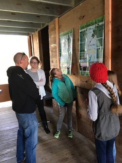 "McKinney Middle School students presented their findings and creations to the community at their ""Into the Wild"" Exhibition at Agraria's historic barn."