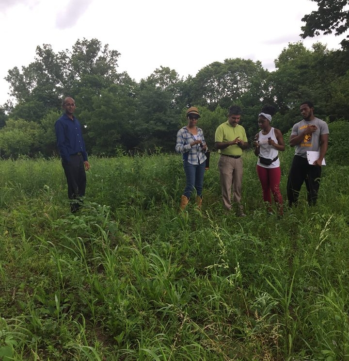 Central State University students and faculty participated in our first soil and water testing event. See the results  here .