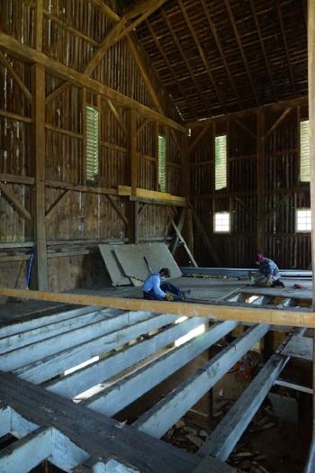 Gabby & Matthew pull floor broader view smaller.jpg