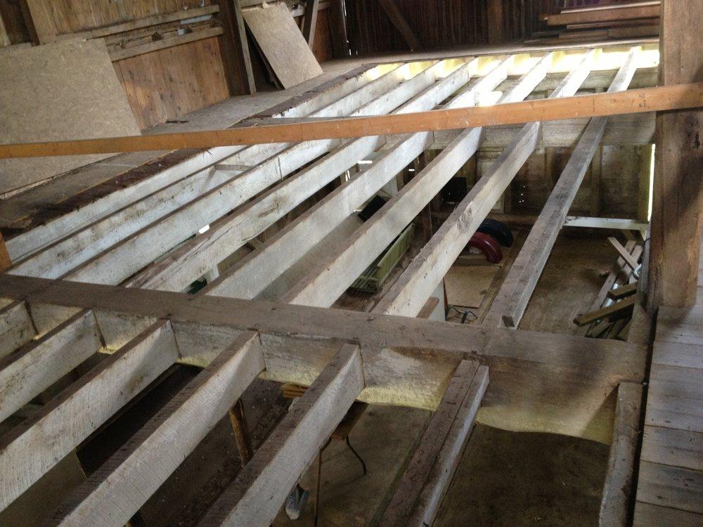 Install Barn Floor