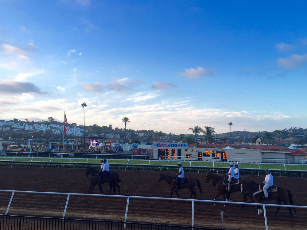 It was a beautiful day at the races!