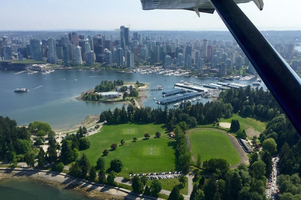 Harbour Air flight last week