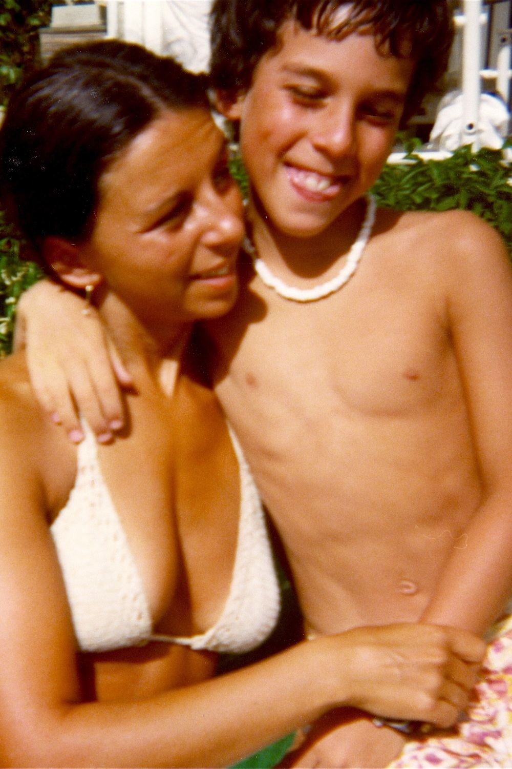 Mom & I in Hawaii mid 70's
