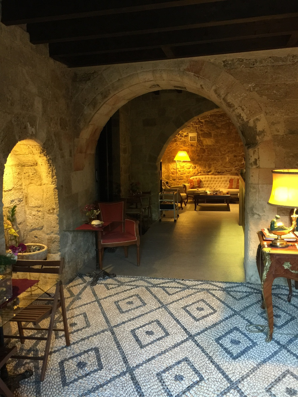 Inside our medieval boutique hotel