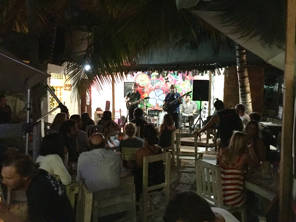 Live music at multiple cantinas