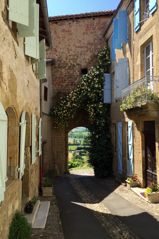 Pilgrim route from Arles to Santiago de Compostela