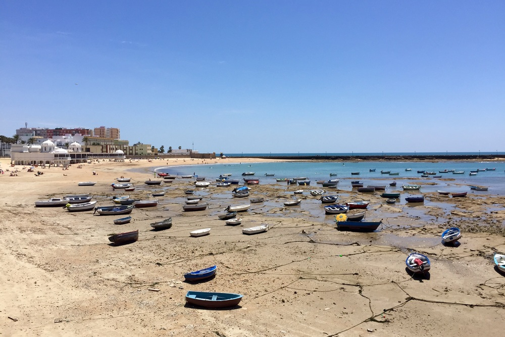 Low tide in Cadiz