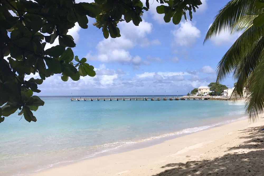 Speightstown, west coast of the island