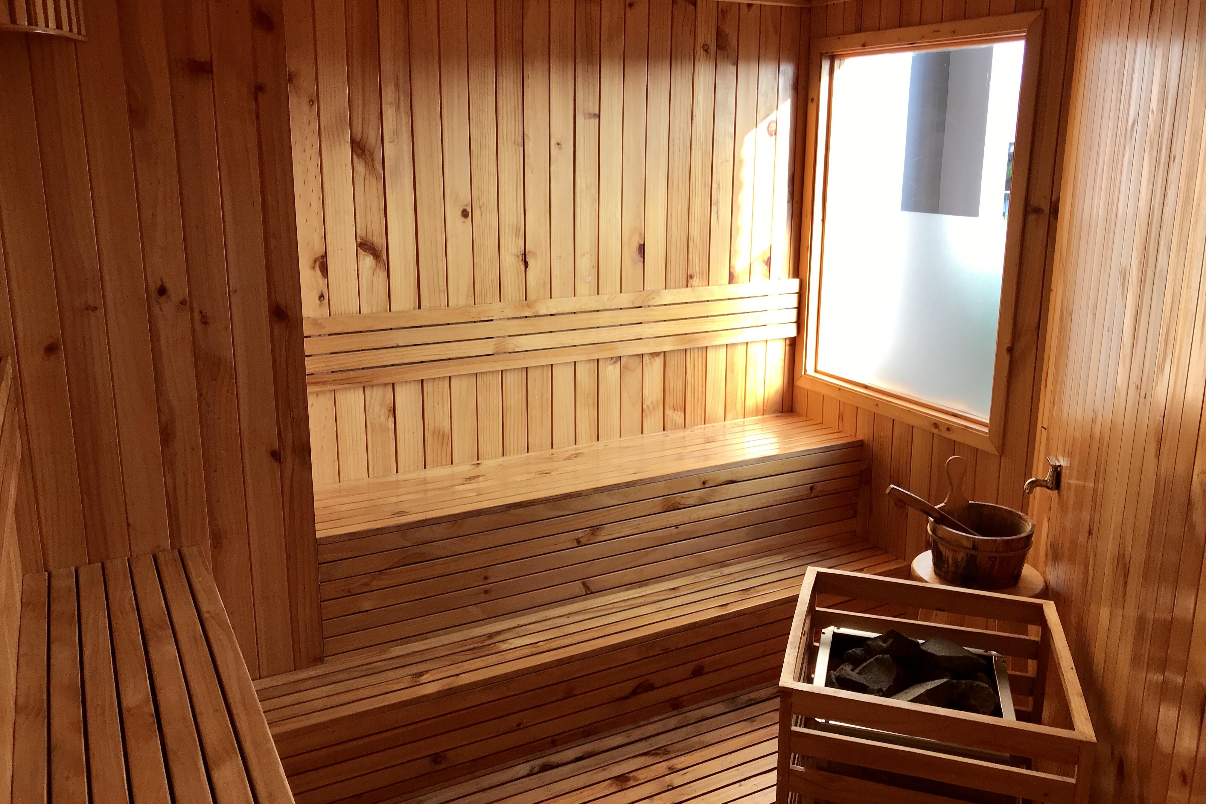 Rooftop Sauna