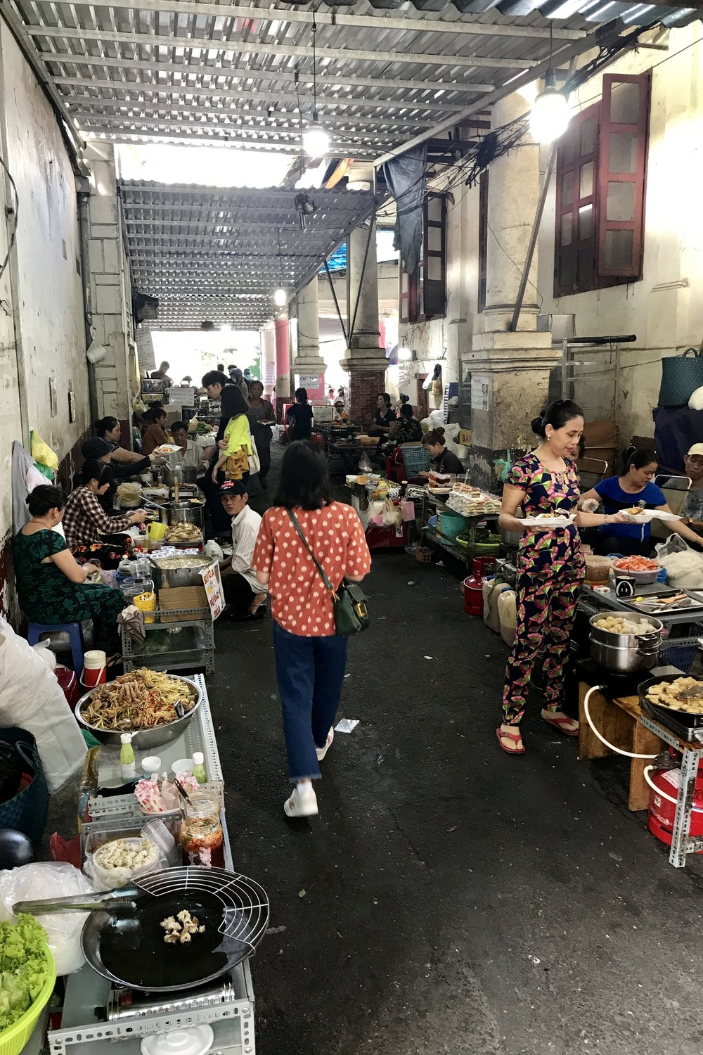 Serious street food alley