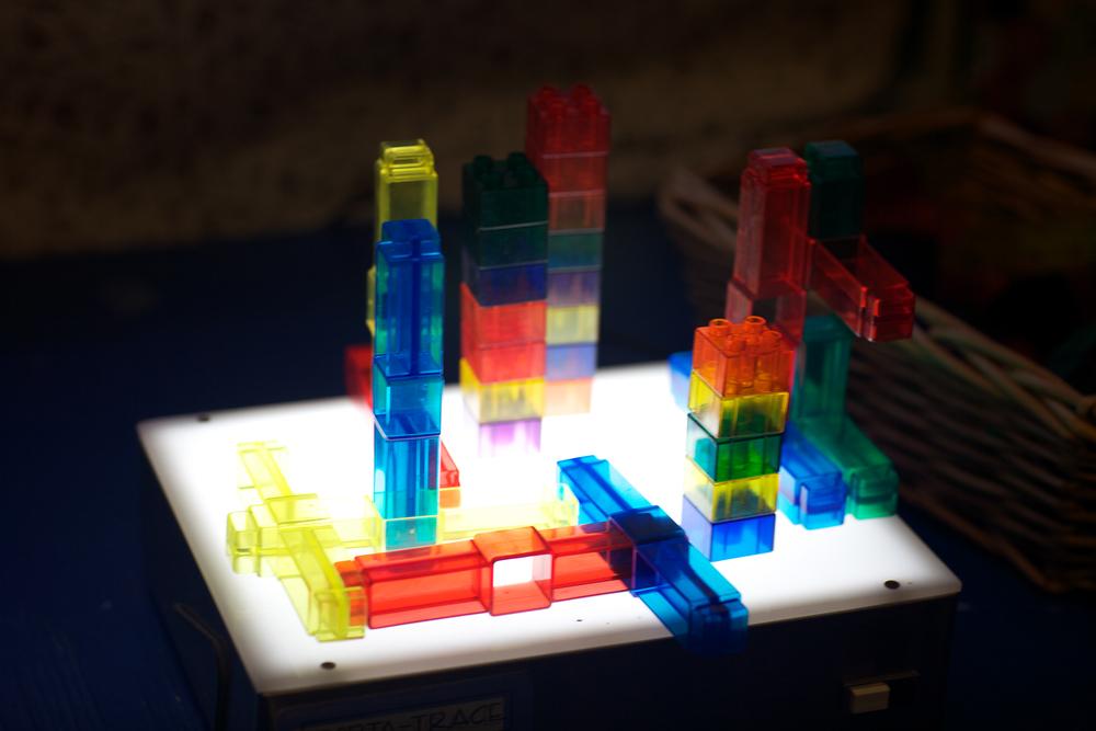 Light Table Sculpture