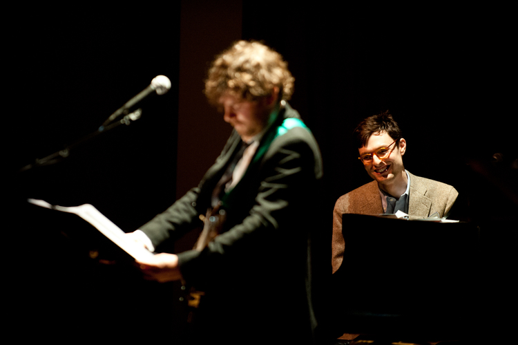 Timo and Gabriel Kahane from 13.14 LM performance