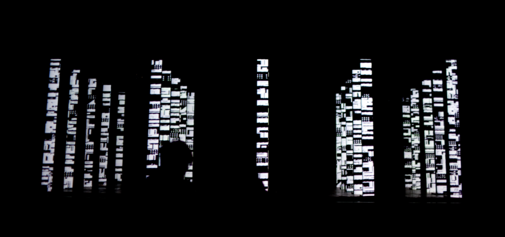 Imposition   - A/V Performance - Excerpt || Live audiovisual performance by electronic musician Edisonnoside and Daniel Schwarz.