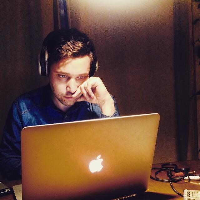 Daniel 'at work'