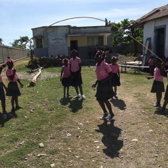 Fundraiser in Dantan, Haiti