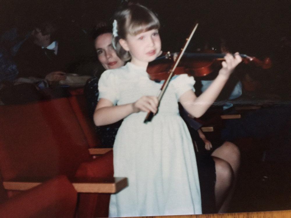 Kate at age 6
