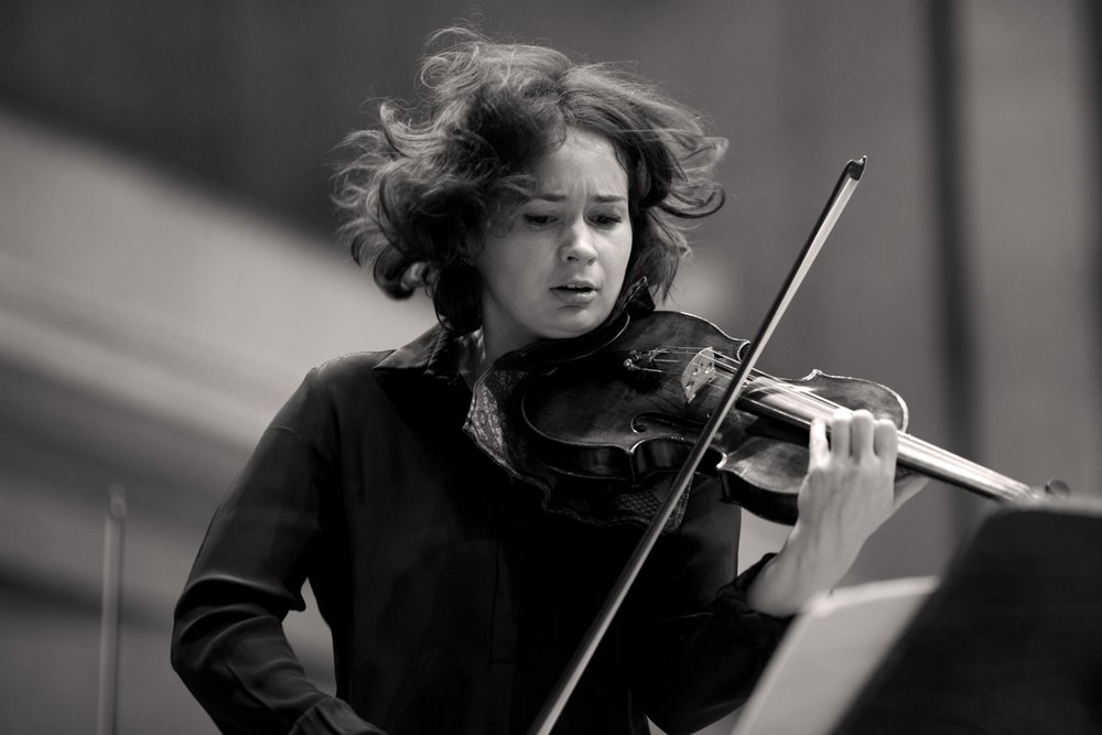 Patricia Kopatchinskaja by Astrid Ackerman