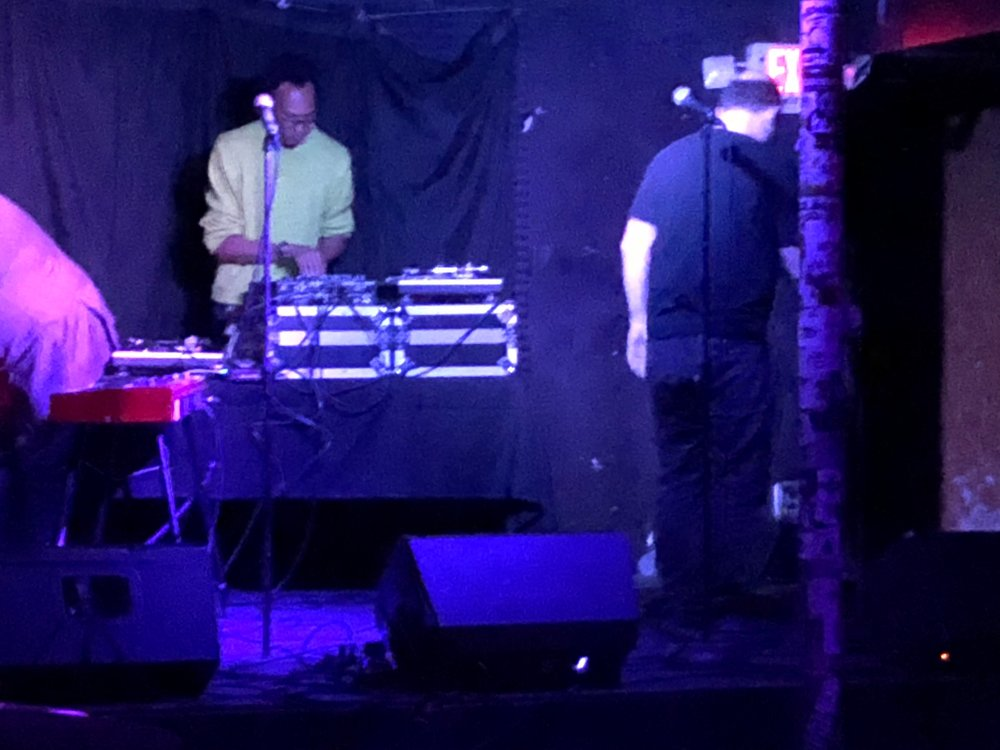 Clayton performing at Honey in NE Minneapolis.