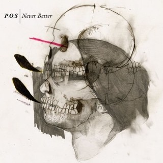'Never Better' album cover, designed by Eric Timothy Carlson.