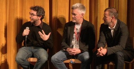 Apr 30 - Here's an excerpt from the Q&A with the filmmakers behind BOUNCE: HOW THE BALL TAUGHT THE WORLD TO PLAY, Director Jerome Thelia, Writer John Fox, & Cinematographer David McLain.