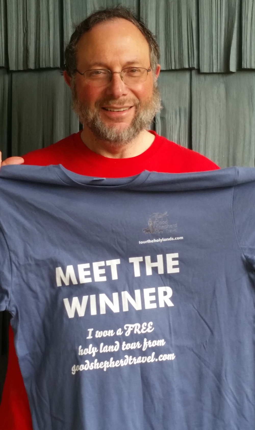 Our 2015 Sweepstakes winner, Steven C. from New Jersey