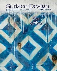 "Read my article ""Dialogue of the Unsent"" in the Winter 2015/2016 issue of Surface Design Journal. Click on image to order your copy - many great articles in this issue!"