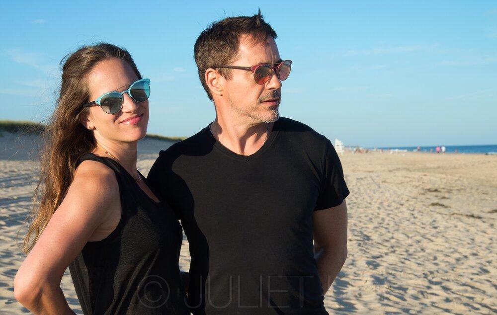 Susan and Robert Downey