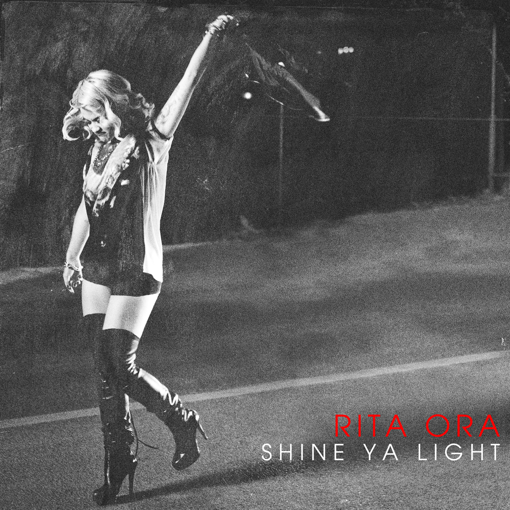 Rita Ora // Shine Ya Light Cover Art