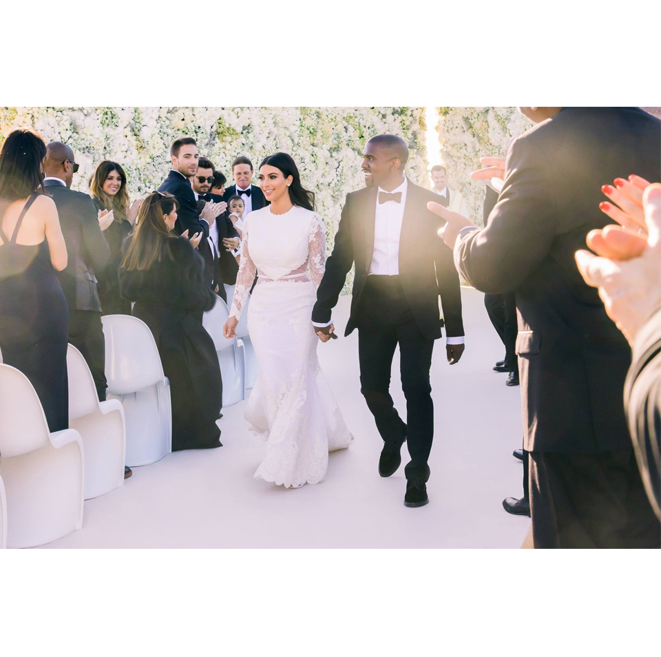 Kim Kardashian & Kanye West // Wedding // Florence Italy